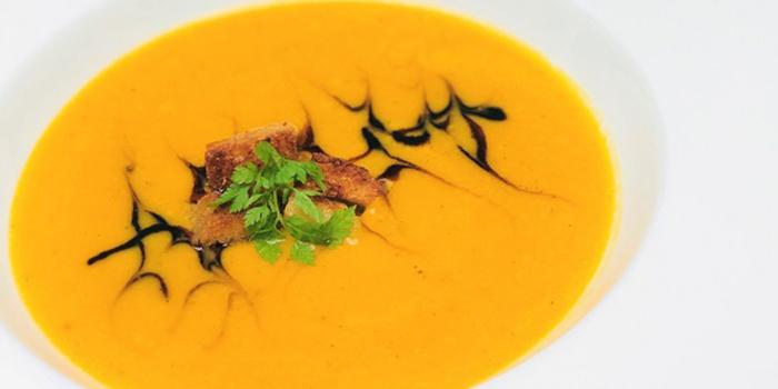 Pumpkin Soup from ALBA 1836 Italian Restaurant in Duxton, Singapore