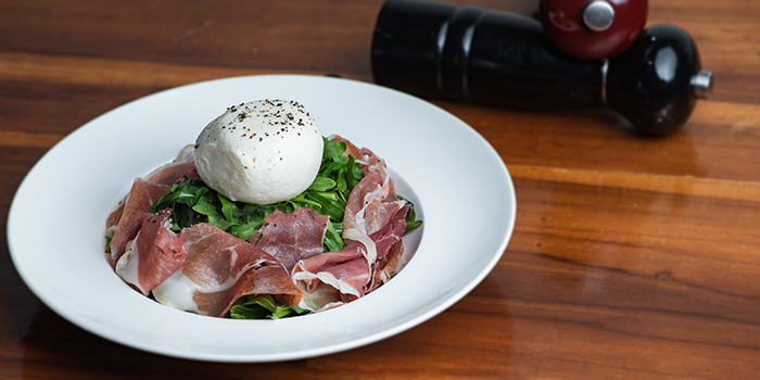 Proscuitto Burrata from Amano in Bukit Timah, Singapore