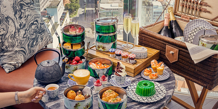 High Tea Set Menu from Alley on 25 in Andaz Singapore in Bugis, Singapore