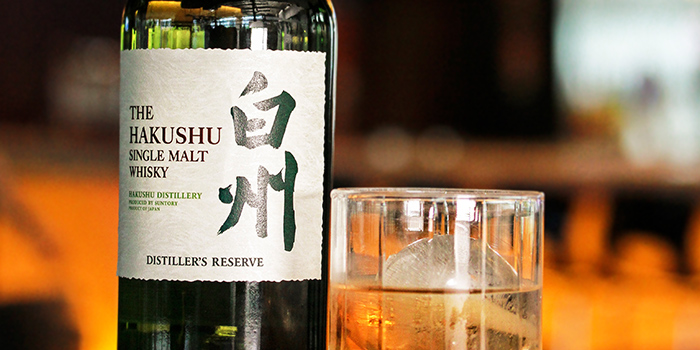 Hakushu from Bar on 5 at Mandarin Hotel in Orchard, Singapore