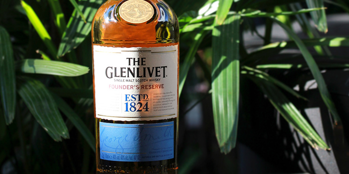 The Glenlivet from Bar on 5 at Mandarin Hotel in Orchard, Singapore