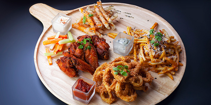 Brewerkz Platter from Brewerkz Riverside Point in Clarke Quay, Singapore