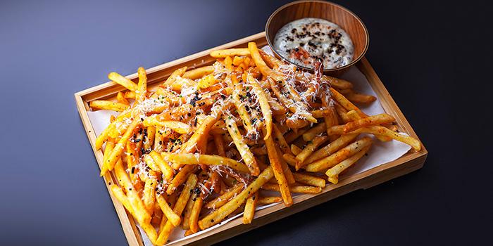 Kombu Truffle Fries from Brewerkz Riverside Point in Clarke Quay, Singapore