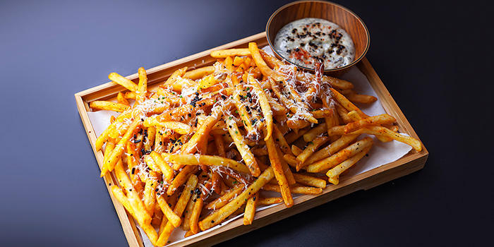 Kombu Truffle Fries from Brewerkz Riverside Point in Clarke Quay, Singapore