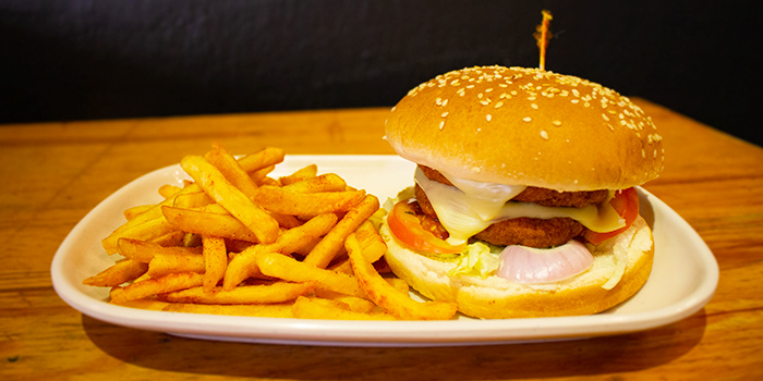 Burger from Charco