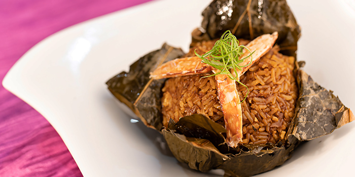 Signature Fried Rice in Lotus Leaf from Carpenter 29 in Clarke Quay, Singapore