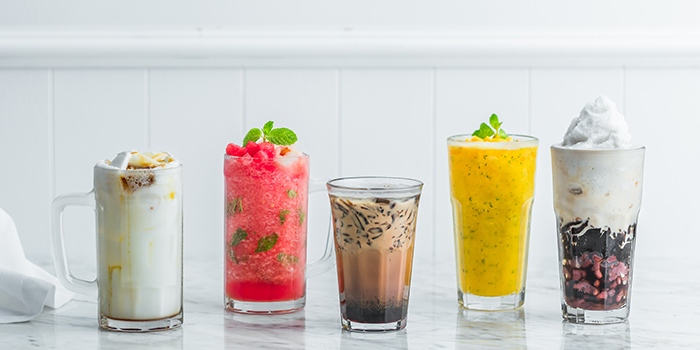 Ice Beverages from Colonial Club Signatures at Paragon Shopping Centre in Orchard, Singapore
