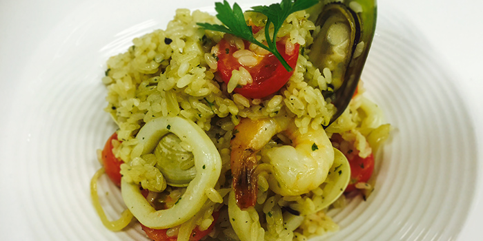 Seafood Risotto from Cucina Restaurant & Catering at Aperia Mall in Kallang, Singapore