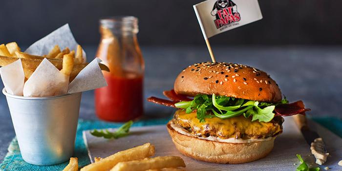 Bushtucker Burger from FATPAPA