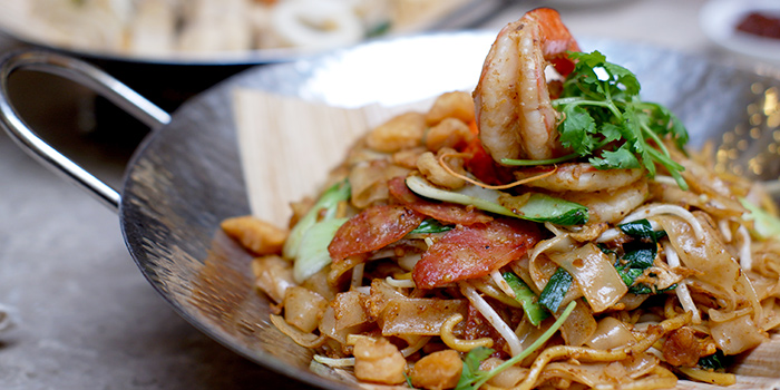 Char Kway Teow from Grand Cru at South Courtyard at The Fullerton Hotel Singapore in Raffles Place, Singapore