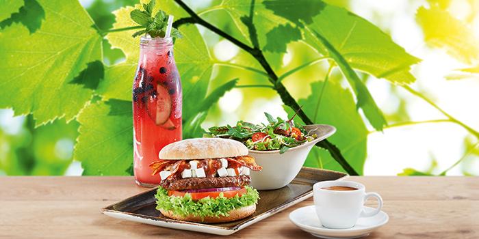 Set Menu (Non-Alcoholic) from Hans Im Gluck German Burgergrill at Republic Plaza in Raffles Place, Singapore