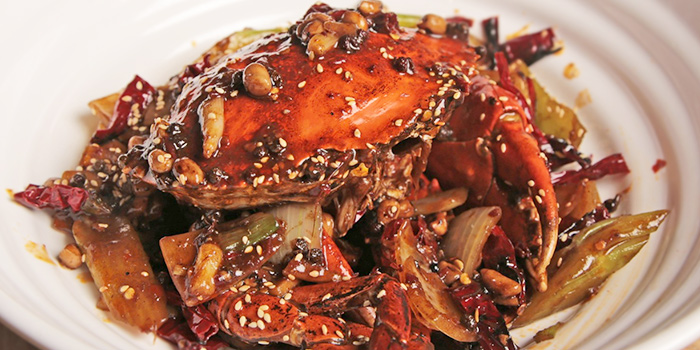 Mala Crab from Happiness Seafood by Uncle Leong Signatures in Kallang, Singapore