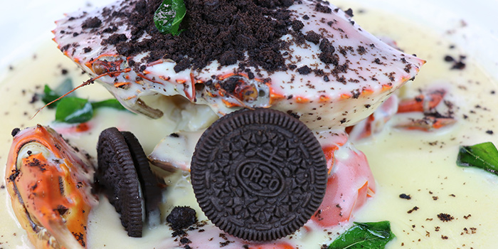Oreo Butter Crab from Happiness Seafood by Uncle Leong Signatures in Kallang, Singapore