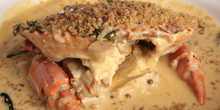 Shimmering Sand Crab from Happiness Seafood by Uncle Leong Signatures in Kallang, Singapore