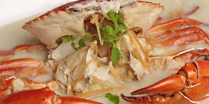Steamed Crab from Happiness Seafood by Uncle Leong Signatures in Kallang, Singapore