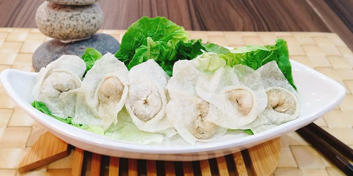 Handmade Fish Dumplings from Imperi Health Pot in Chinatown, Singapore
