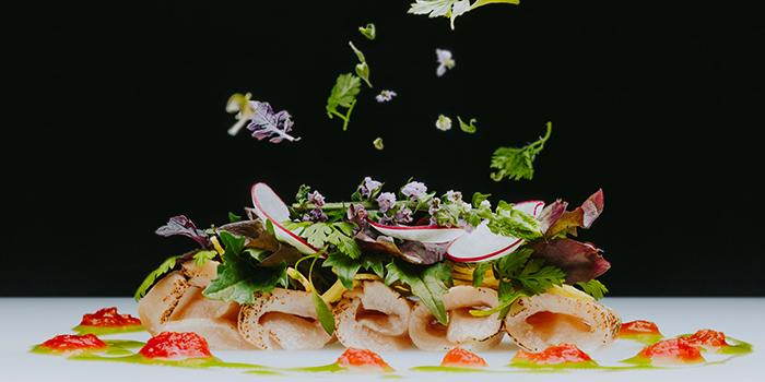 Aburi Hamachi Salad from KOMA Singapore at Marina Bay Sands in Marina Bay, Singapore