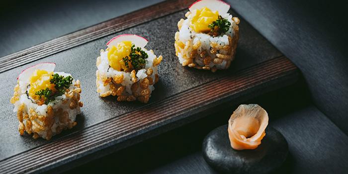 Spicy Tuna Maki from KOMA Singapore at Marina Bay Sands in Marina Bay, Singapore