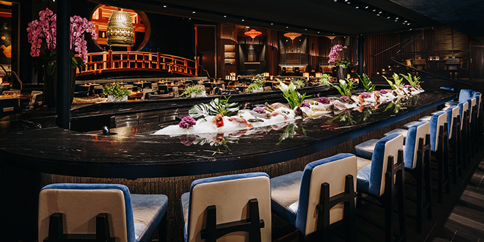 Sushi Bar from KOMA Singapore at Marina Bay Sands in Marina Bay, Singapore
