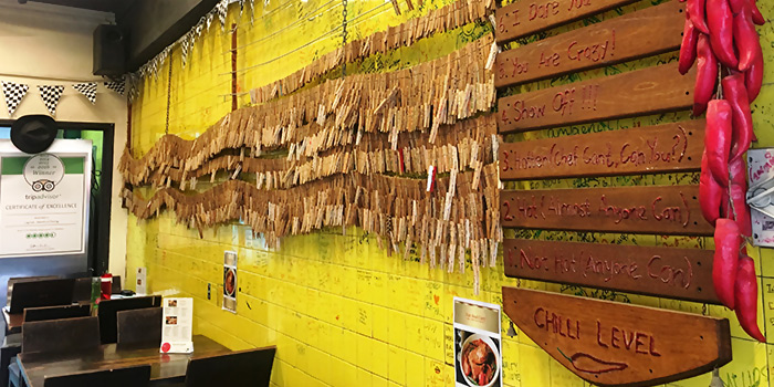 Chilli Ladder from Lagnaa... barefoot dining in Little India, Singapore