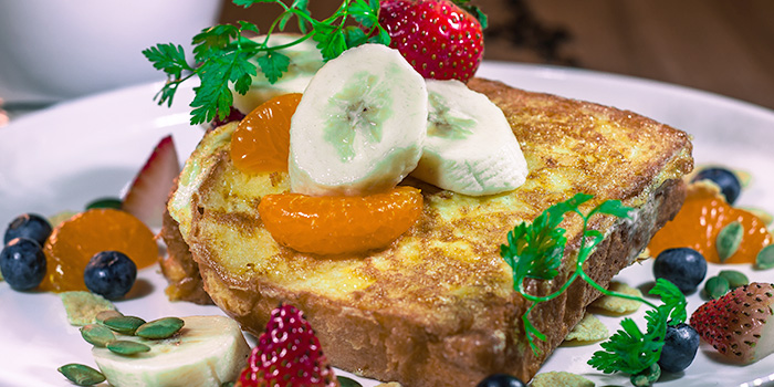 Butter Rum French Toast from Little Lazy Lizard in Bukit Timah, Singapore