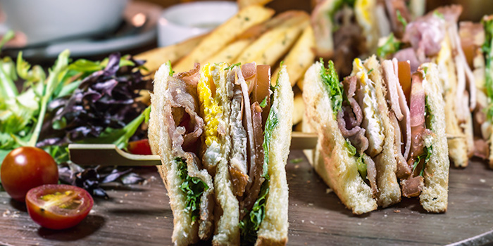 Club Sandwich from Little Lazy Lizard in Bukit Timah, Singapore