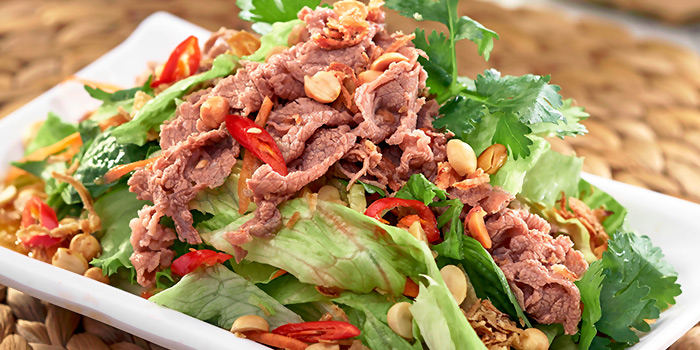Mix Beef Salad from Little Hanoi in Telok Ayer, Singapore