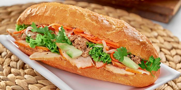 Pork Belly Sandwich from Little Hanoi in Telok Ayer, Singapore