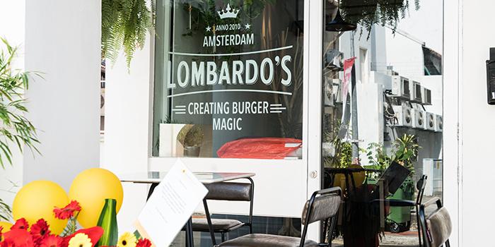 Exterior of Lombardo