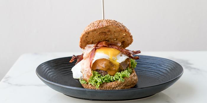 Hangover Burger from Lombardo