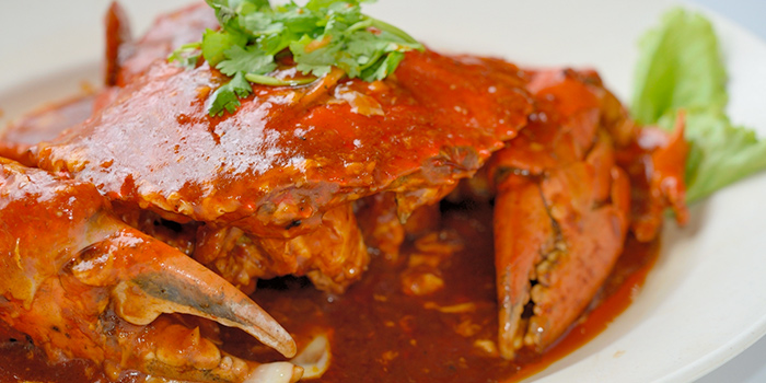 Chilli Crab from No.3 Crab Delicacy (Orchid Country Club) at Orchid Country Club in Yishun, Singapore