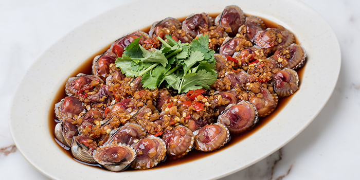 Drunken Cockles from No.3 Crab Delicacy (Orchid Country Club) at Orchid Country Club in Yishun, Singapore