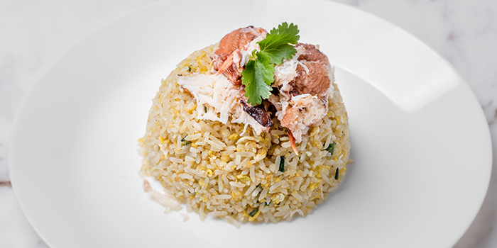 Fresh Crabmeat Fried Rice from No.3 Crab Delicacy (Orchid Country Club) at Orchid Country Club in Yishun, Singapore