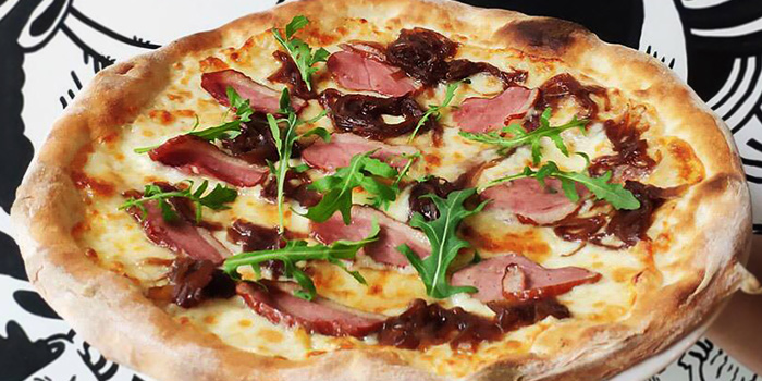 Ham and Spinach Pizza from PizzaFace (Concourse) at The Concourse in Bugis, Singapore