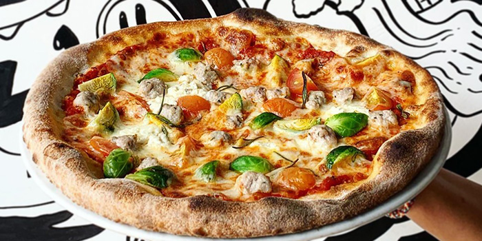 Homemade Pork Sausage Pizza from PizzaFace (Ridgewood) in Clementi, Singapore
