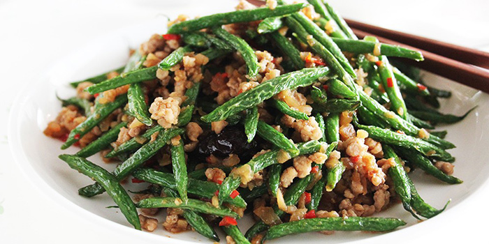 French Bean from Sing Ho Hainan Chicken Rice in Bugis, Singapore