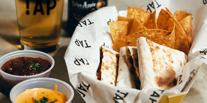 Quesadilla from TAP (One Raffles Link) at One Raffles Link in Promenade, Singapore