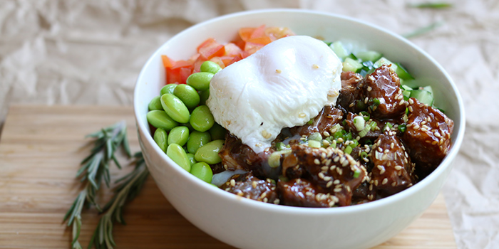 Ssamjang Wagyu Rice Bowl from TAP Craft Beer (Robertson Quay) in Robertson Quay, Singapore