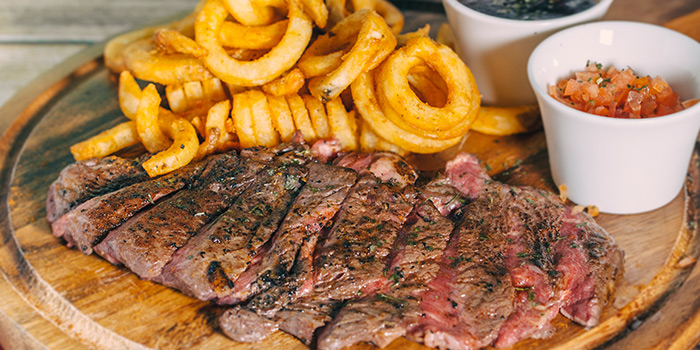 Steak & Fries from TAP Craft Beer (Robertson Quay) in Robertson Quay, Singapore