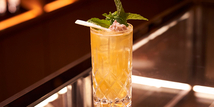 Plum Haze from The Bar at 15 Stamford at The Capitol Kempinski Hotel Singapore in City Hall, Singapore