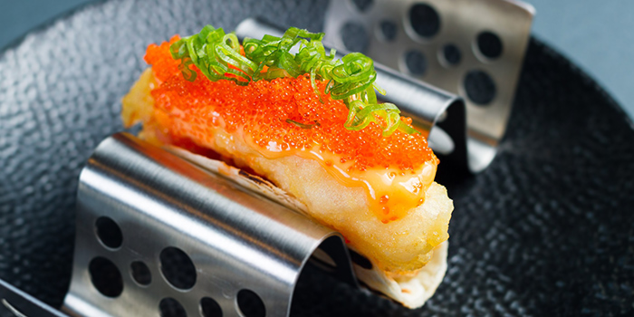 Prawn Taco from Viio Gastropub Restaurant & Bar in Balestier, Singapore
