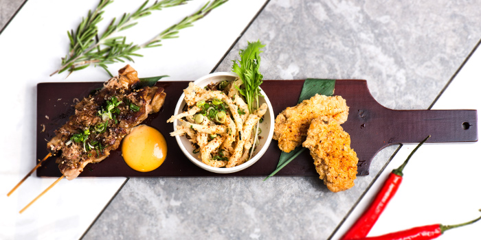 Tapas Tasting Flights from Viio Gastropub Restaurant & Bar in Balestier, Singapore
