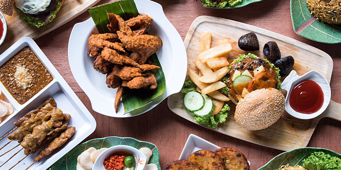 Food Spread from Woody Family Cafe in Sembawang, Singapore