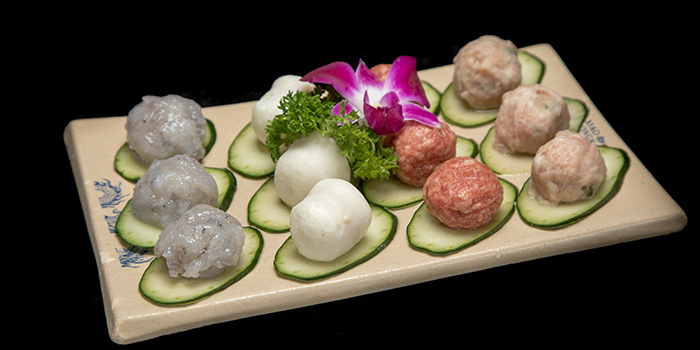 Meatballs from Xiao Long Kan Hotpot (Bedok) in Bedok, Singapore