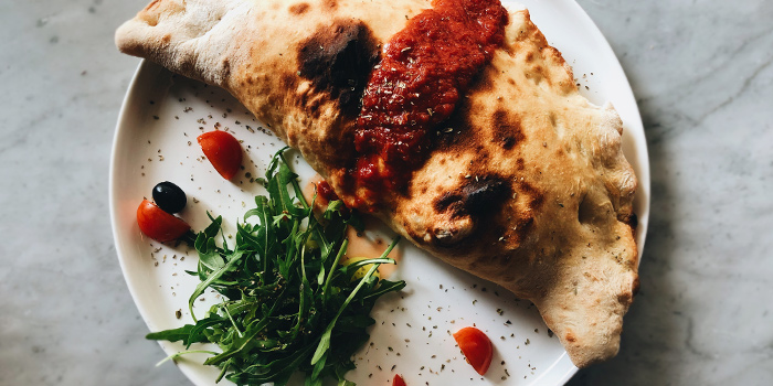 Calzone from d.o.c in Tanjong Pagar, Singapore