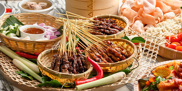 Satay from Food Exchange at Novotel Singapore on Stevens in Tanglin, Singapore