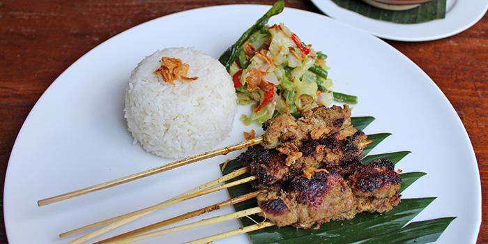 Food from Kori Restaurant, Legian, Bali