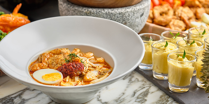 Singapore Laksa from Food Exchange at Novotel Singapore on Stevens in Tanglin, Singapore