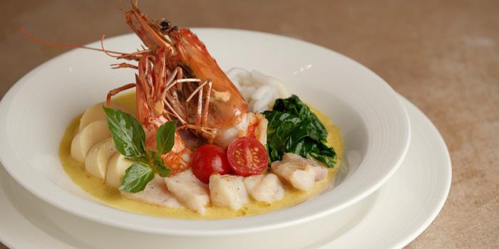 Singaporean Laksa at Mezzanine Restaurant, Gading Serpong