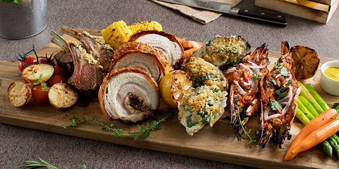 Surf & Turf: Food Spread (13 Sep to 10 Nov) of Sky22 at Courtyard by Marriott Singapore Novena in Novena, Singapore